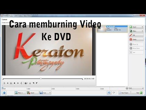 Cara mem burning video ke DVD menggunakan nero 12