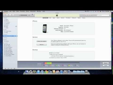 شرح تنصيب iOS 5