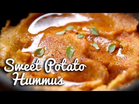 Sweet Potato Hummus from Crumbs