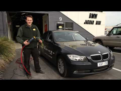 Checking Tyre Pressure & Setting Tyre Pressure Monitor in BMW E90