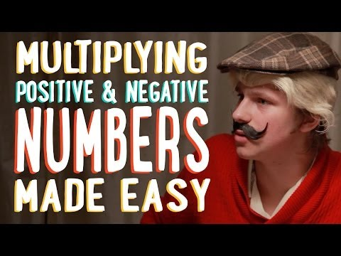 Multiplying Positive and Negative Numbers | Indie Math Family | PBSMathClub