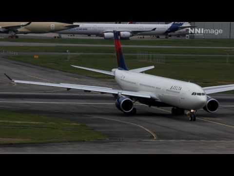 A330 Delta Airlines + A320neo Air India + ATR IranAir