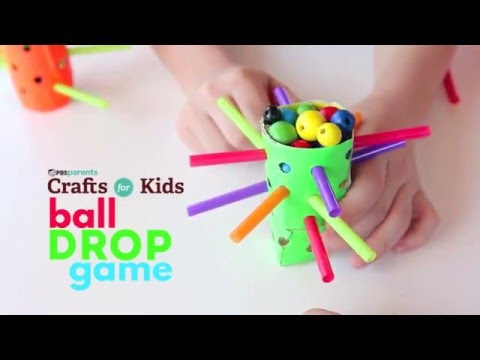 Ball Drop Game  | PBS Parents | Crafts for Kids
