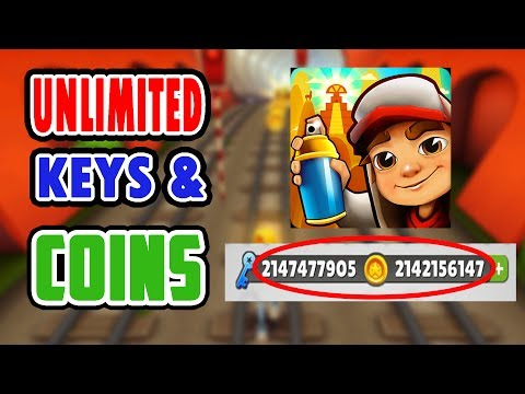 *2017 METHOD* HOW TO HACK SUBWAY SURFERS  - UNLIMITED COINS AND KEYS
