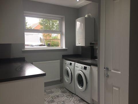 Garage Converted to Utility Room/W.C./Storage - Moreton, Wirral, Merseyside - HD