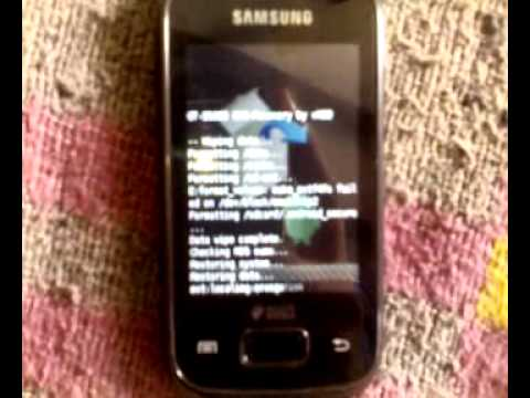 Stock Rom Re-Installation On Samsung Galaxy Y Duos Lite(gt s-5302)