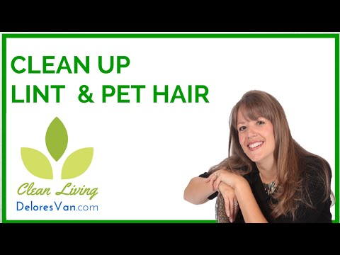 Norwex Clean Natural Green - Jobs / Money - Lint / Hair / Animal Fur / How to Remove
