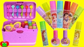 Secret Keepsake Password Journal Box with Disney Princess Lip Balms and Surprises
