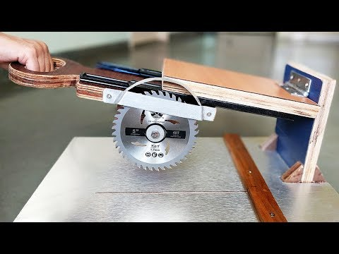 How to Make a Sliding Miter Saw at Home