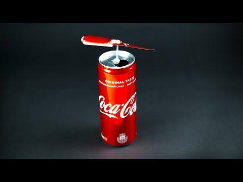 DIY Flying coca cola