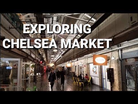 Exploring Chelsea Market - Chelsea, Manhattan, NYC