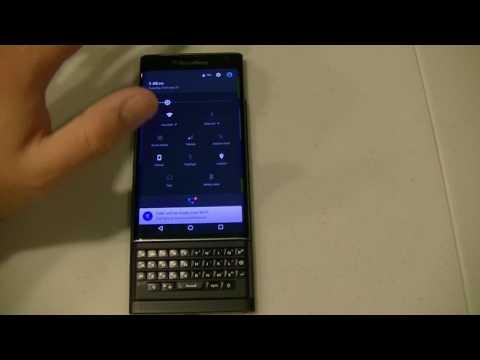 BlackBerry PRIV - Enable Pointer Mode (Mouse)