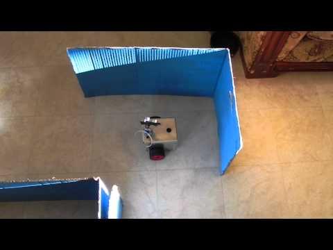 Autonomous Robot Navigating Through Maze