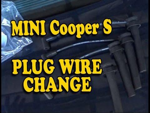 MINI Cooper Spark Plug Wire Change