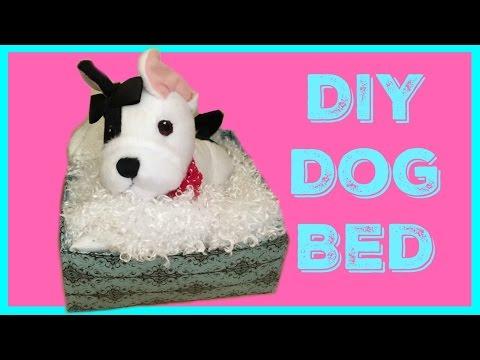 DIY American Girl Doll Pet Bed