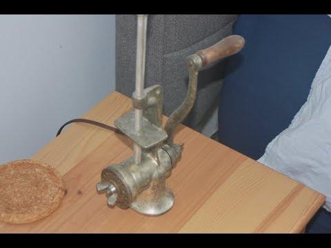 Mince Meat Grinder Lamp - Pt.1