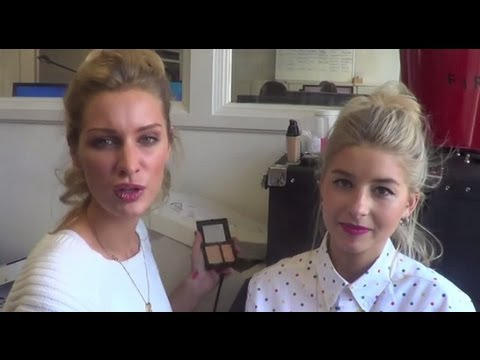 Made in Chelsea's Phoebe and Olivia Makeup How To for Tatler Magazine