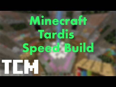 Minecraft | Tardis Speed Build - Ep. 1