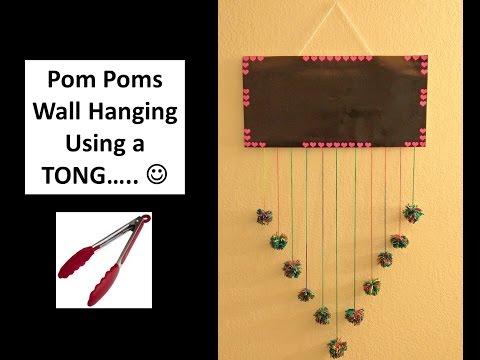 DIY How to make pom poms