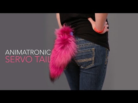 Really Simple Animatronic Tail with 3D Printing