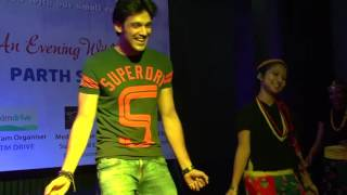group dance  with parth in Nepal