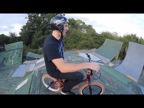 I LOVE A BMX WITH BRAKES.....