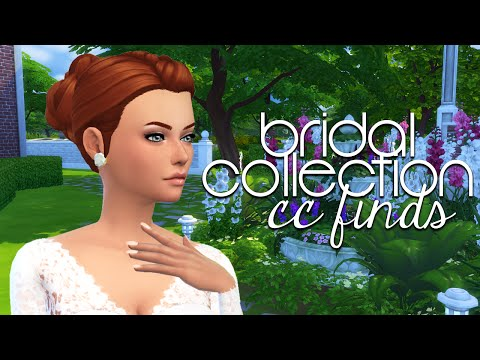 The Sims 4: Custom Content Finds | Wedding Dresses