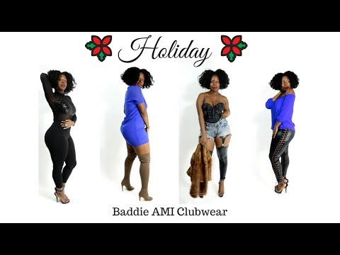 Holiday Baddie LookBook | AMI ClubWear