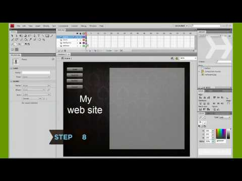 How to Create an Adobe Flash Web Site
