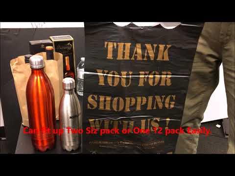 Best Liquor Plastic Bags Ever   (Strength Demo)