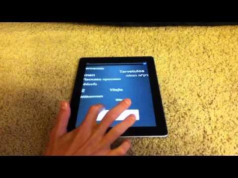 iPad 2 Unboxing and Setup HD