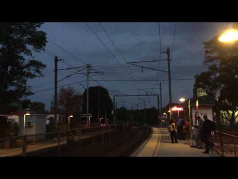 Amtrak Northeast Regional #66 arrives into Mystic, CT - 8/29/16