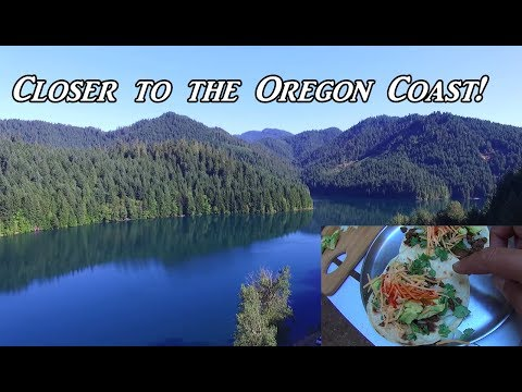 Closer to the Oregon Coast!  VanLife on the Road