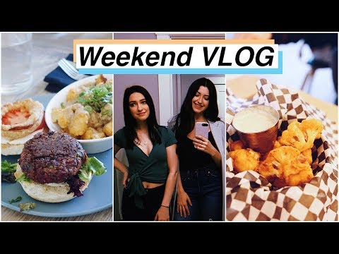 WEEKEND VLOG | My Favourite Vegan Restaurants