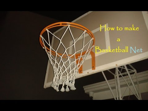 How to make a Basketball net | 12 strings