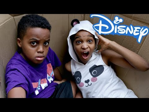 We Mailed Ourselves To Disney World AND IT WORKED! - Shiloh and Shasha - Onyx Kids