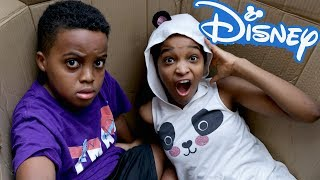 We Mailed Ourselves To Disney World AND IT WORKED! - Bad Baby Shiloh and Shasha - Onyx Kids