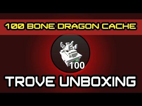 TROVE Opening - 100 bone dragon cache