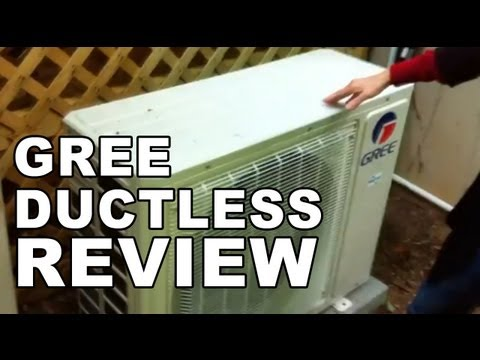 Gree Ductless Air Conditioner Installation