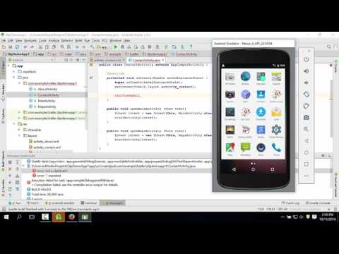 07_How To Add A Working Email Link - Android Studio