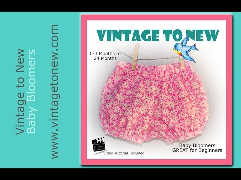 Tutorial Diaper Cover Baby Bloomers Bubble Bum