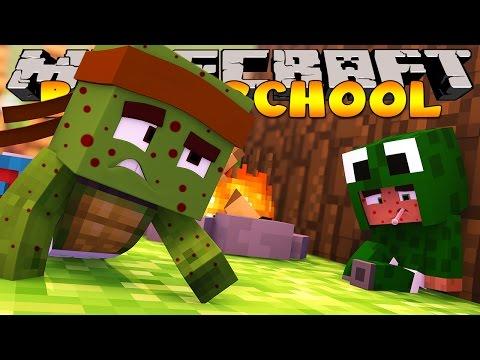 Minecraft Baby Daycare - THE BABIES GET CHICKEN POX w/ LittleCarly