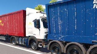 Autobahn Police Simulator 2 - Part 4 - Two Trucks Collide