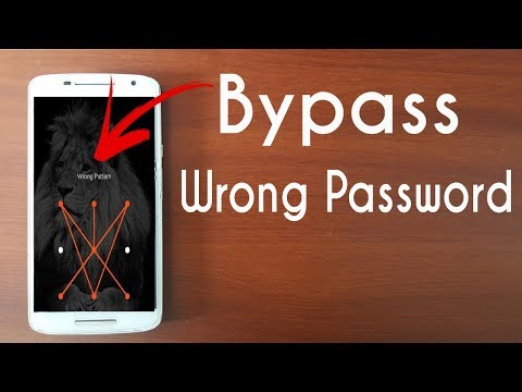 How To Bypass Forgot Lock Password In Moto