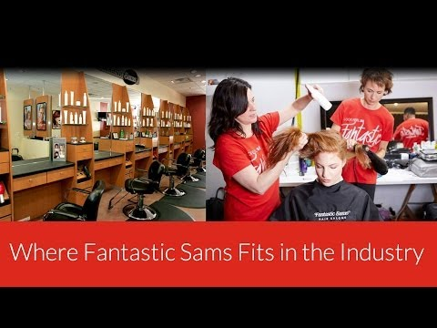 Where Fantastic Sams fits in the industry