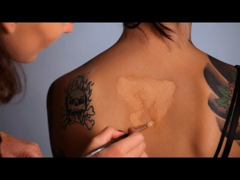 How to Layer Concealer to Cover Tattoo | Special FX Makeup