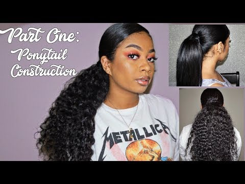 Make your own Ponytail Extension (PART ONE)