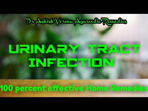 Urine infection / U.T.I. Ayurvedic Home remedies in Hindi By Dr Ashish Verma