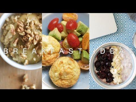 Three Healthy Breakfast Ideas | The Anna Edit