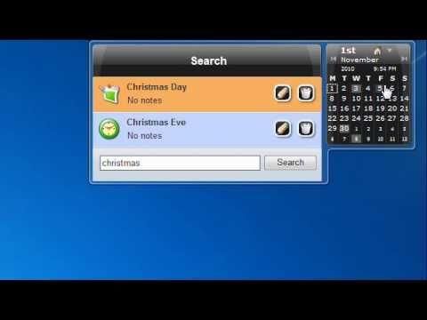 Desktop Calendar 7 Preview